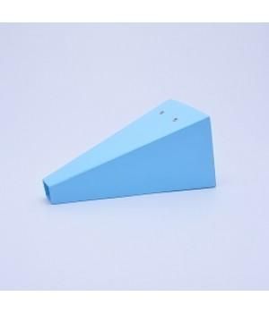 Конус 13*28*30 см блакитна