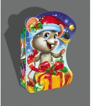 """Новорічна коробка """"Мишка"""" 1043*1"""
