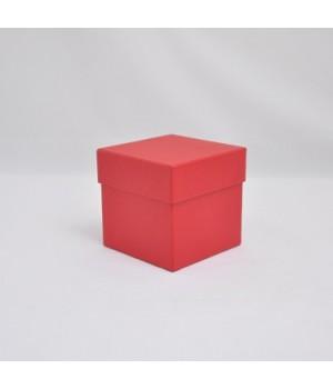 Коробка кришка-дно 11*7*3,5 см червоний эфалін