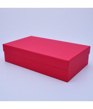 Подарочная коробка крышка-дно 35*20*8,5 см красный