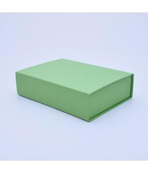 Коробка крышка-дно 27,5*23*10 см светло-зеленая (кейк колор)