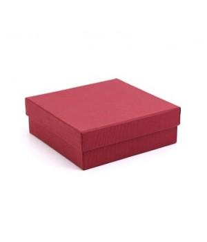 Коробка крышка-дно 35*20*8,5 см красная (маджестик)