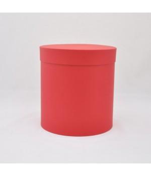 Кругла коробка 15 * 17 см з кришкою червона (Creative board)