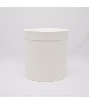 Кругла коробка 15*17 см з кришкою біла  (Artelibric extrabianco)