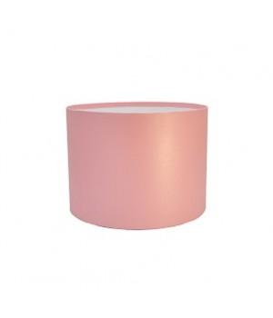 Кругла коробка 20*15 см без кришки рожева (Woodstuk rosa)