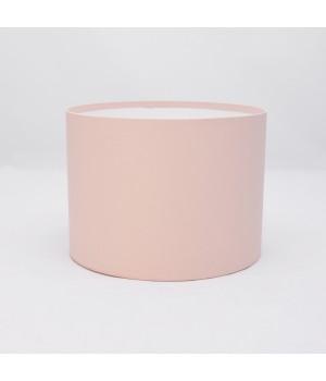 Кругла коробка 20*15 см без кришки пудра (Woodstok cipria)