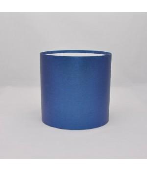 Круглая коробка 20*15 см без крышки синяя (креатив борд)