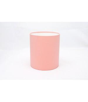 Круглая коробка 11,8*14 см без крышки пудра (woodstok cspria)