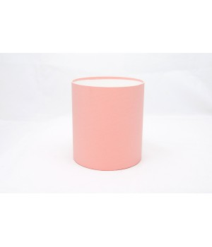 Круглая коробка 15*17 см без крышки пудра (cipria woodstok)