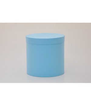 Кругла коробка 15 * 17 см з кришкой блакитна (Clariana azul)