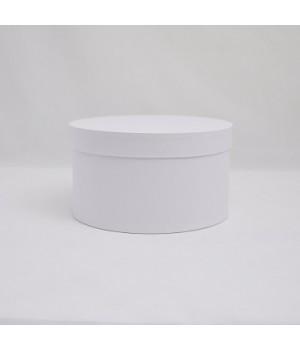 Кругла коробка 35*17 см з кришкою біла (Dali candido)