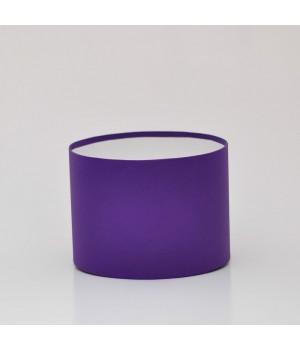 Круглая коробка 20*15 см без крышки темно-фиолетовая