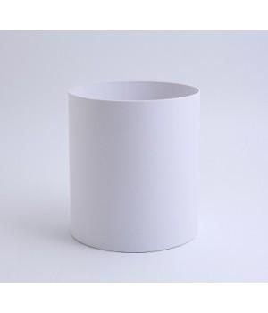 Кругла коробка 11,5*14 см без кришки біла (Pergraphica)