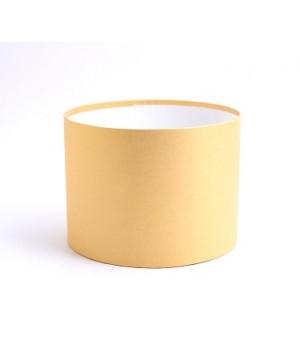 Кругла коробка 20*20 см без кришки пісок (Malmero chamois)