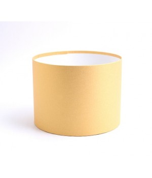 Круглая коробка 20*15 см  без крышки золото (стардрим)