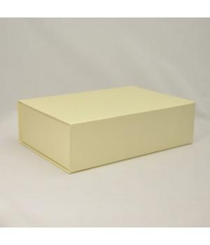 Коробка на магнітах 22*16*5,5 см бежева (Dali bianko)
