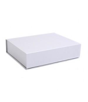Коробка на магнітах 31*21*9 см біла (artelibric)