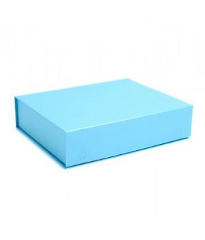 Коробка на магнітах 22*16*5,5 см блакитна (Clariana)