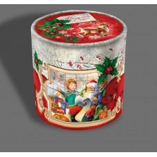 """Новорічна подарунковий тубус """"Казка Діда Мороза"""" 21-Т4*3"""