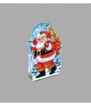 """Новорічна коробка """"Дід Мороз"""" 881*1а"""