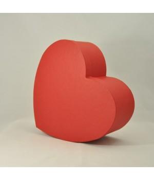 "Коробка в форме ""сердца"" 30*25*12 см красная (Creative board)"