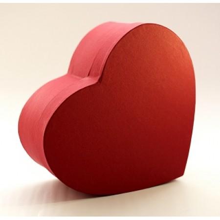 """Коробка у формі """"серця"""" 25*20*10 см червона (Creative board )"""
