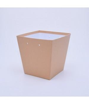 Коробка Трапеція 20*20*20 см крафт