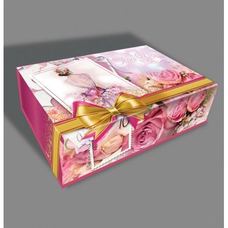 """Святкова коробка """"Скринька Балерина"""" 1001"""