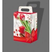 """Святкова коробка """"Тюльпани"""" 1018"""