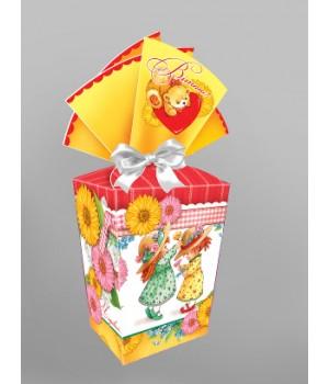 """Подарочная коробка """"Праздничная"""" 989"""
